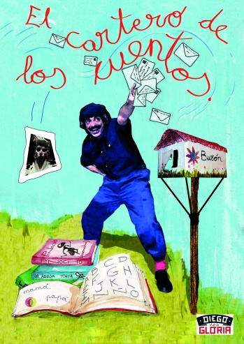 El Cartero de los Cuentos, es un espectáculo de teatro infantil de Diego el de la Gloria producciones. .